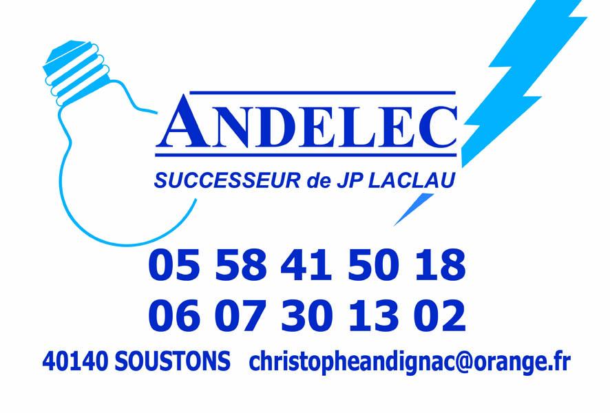 ANDELEC SOUSTONS HOSSGOR