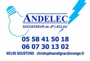 ANDELEC-LACLAU-Electricité - SOUSTONS HOSSEGOR CAPBRETON